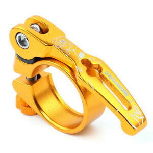 Bicycle Quick Release SeatPost Clamp 31.8mm/34.9mm MTB Bike Seat  QR Fixed Gear
