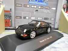 PORSCHE 911 964 Turbo Coupe schwarz black SP Atlas by Spark 1:43