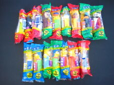 Lot of 16 Pez Dispensers New Sealed - Simpsons & Warner Brothers & Batman