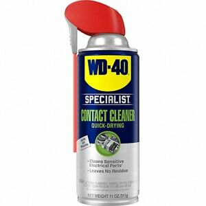 WD-40 Specialist, CONTACT CLEANER, 11oz AEROSOL CAN, UNSCENTED 1 EA, 300554