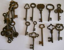 Rusty Ornate Skeleton 1800 S Keys 25 PC Lot Steampunk 220725