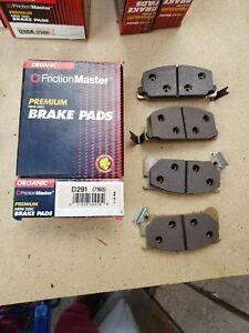 Disc Brake Pad-Premium Brake Pad Front Friction Master D291 NOS