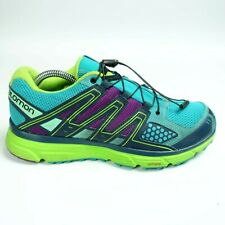 Salomon X Mission 3 Trail Running Shoe Teal Contragrip US Women Size 9.5