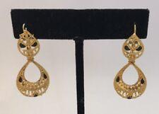 Fashion Jewelry Jhumka Kundan Earrings Gold Plated Indian Ethnic Pakistan