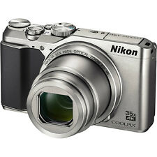 Nikon Coolpix A900 4K HD Wi-Fi Digital Camera Silver