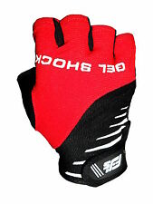 RT GEL SHOCK CYCLING / CYCLE / BIKE / MTB / BICYCLE GLOVES / MITTS S,M, L OR XL