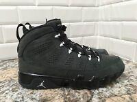 Nike Air Jordan 9 IX Retro Anthracite White Black AJ9 SZ 9.5 302370-013