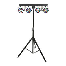 Ibiza Light Partybar Eco LED Lighting System for Disco DJ Band DMX DJLIGHT80