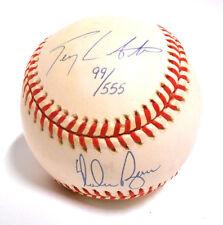 99/555 NOLAN RYAN TERRY LABONTE HOF Auto Autograph Signed Ball Baseball TX Speed