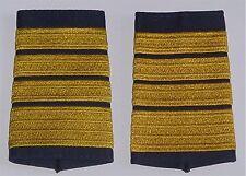 Dienstgradabzeichen Rangschlaufen, gestickt Admiral Blau-Gold .........D7110