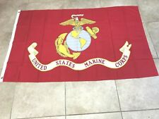 U.S. Marines Usmc 3x5 ft Printed Brass Grommets Super Polyester Flag-On Sale!
