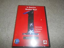 Is America Number One? 1 Understanding the Economics of Success DVD Brand New