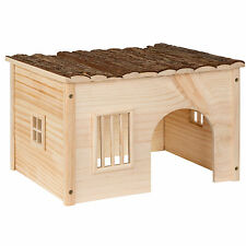 Casa casita de roedores madera roedores conejillo de indias hámster tamaño M