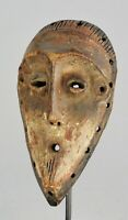 Puissant Masque LEGA Congo mask African Tribal Art traditionnel africain Congo