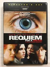 Requiem For A Dream (Dvd, 2001, Director's Cut) Darren Aronofsky Marlon Wayans