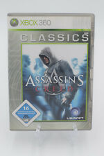 Assasins Creed-Xbox 360-muy buen estado-relámpago envío-comerciante Gara...