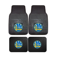 Golden State Warriors NBA 2pc and 4pc Mat Sets - Heavy Duty-Cars, Trucks, SUVs