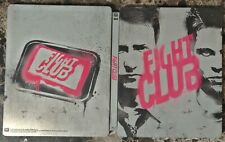 Fight Club (Blu-ray Disc, 2016, Best Buy Limited Edition Steelbook) Brad Pitt