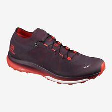 SALOMON Men's S/LAB ULTRA 3 Maverick/Racing Red Trail Shoes