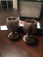 Beautiful Stone Travertine Goblets Smithsonian