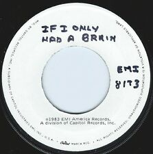 COCONUTS If I Only Had A Brain ((**NEAR MINT 45 TEST PRESSING**)) from 1983