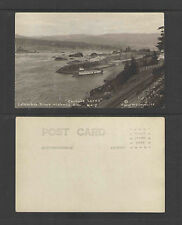 1910s CASCADE LOCKS #418 COLUMBIA RIVER HIGHWAY ORE RPPC REAL PICTURE POSTCARD