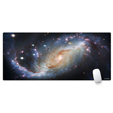 Large Gaming Mouse Pad Extended Oblong Gaming Mousepad Edge Stitched (900*400mm)