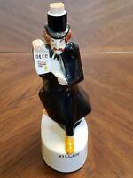 * Villain * 185 Collectible Empty Liquor Bottle Porcelain Royal Enfield 1969