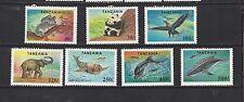 TANZANIA - 1287 - 1293 + 1294 S/S - MNH - 1994 -ENDANGERED SPECIES