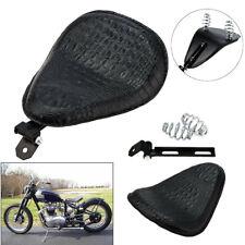 Motorrad Bike Solo Sitz Sattel Sitzfedern Halter für Softail Chopper Sportster