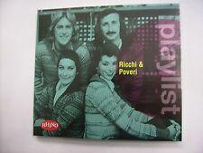 RICCHI E POVERI - PLAYLIST - CD SIGILLATO DIGIPACK 2016