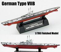 WWII German Type VIIB U 7B submarine U-boat 1/700 diecast Easy model ship
