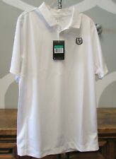 Nwt Nike Golf Boys Youth 510501 White Golf Shirt Xl