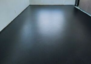 ☆ 1 LITRE BLACK Industrial Floor Paint EXCELL - Acrylic/water based☆