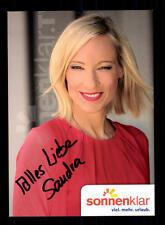 Sandra Hengeler Autogrammkarte Original Signiert # BC 106055