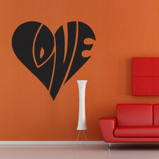 Wall Decal Sticker Vinyl Love Letters Inscription bedroom decor room M332