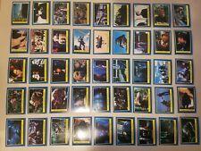 60/66 Star Wars Return Of The Jedi Cards Blue Series NO DUPES w/Skywalker, Vader