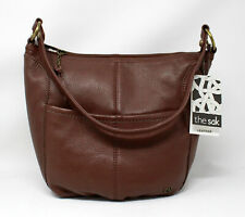 The Sak Hobo Leather Purse Brown