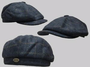 Tommy Shelby BAKERBOY,NEWSBOY,PEAKY BLINDER FLAT CAP 1920S CABBIE,cheese cutter