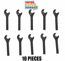 NEW LEGO 10x Minifig Accesory Wrench Spanner Screwdriver Tool In-Hand Minifigure