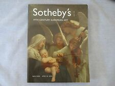 Sotheby's - 19th Century European Art- New York April 20, 2005