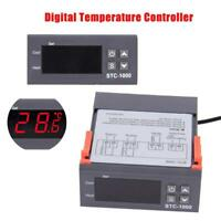 12V/24V/110V/220V STC-1000 Digital Temperature Controller Thermostat NTC Sensor