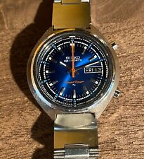 Vintage Seiko 5 Speed-timer 7015-7000 flyback chronograph