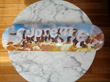 Supreme NYC Apes Day Skateboard deck 2021 collector logo  SS21SB11