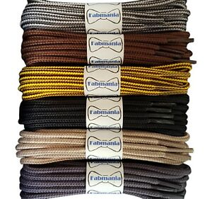 Strong Boot Laces - 4 mm round - CAT Caterpillar boot lace designs