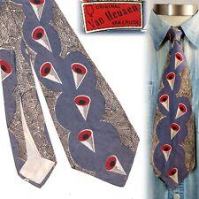 1940s Van Heusen Cones Vintage Necktie Art Deco Swing Tie