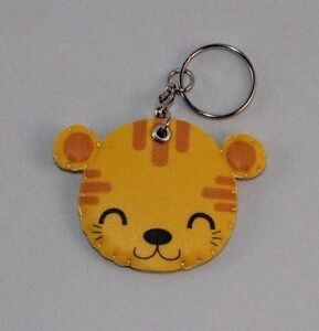 Soft Plush Keyring Cute Animal Faces - Original Thailand Craft Imported Handmade