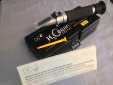 D&D H2Ocean Salinity Refractometer For Marine Aquarium Fish Tank