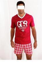Karierte Herren-Pyjama-Sets in Größe XL