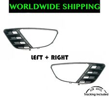 Ford Fiesta 02-05 Front Bumper Left + Right Grille Fog Light Lamp New